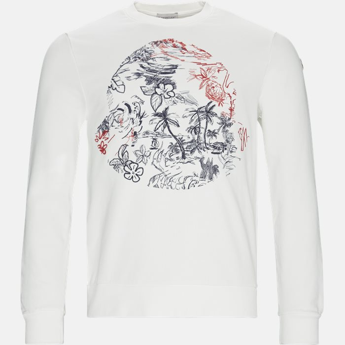 Sweatshirts - Regular fit - Hvid